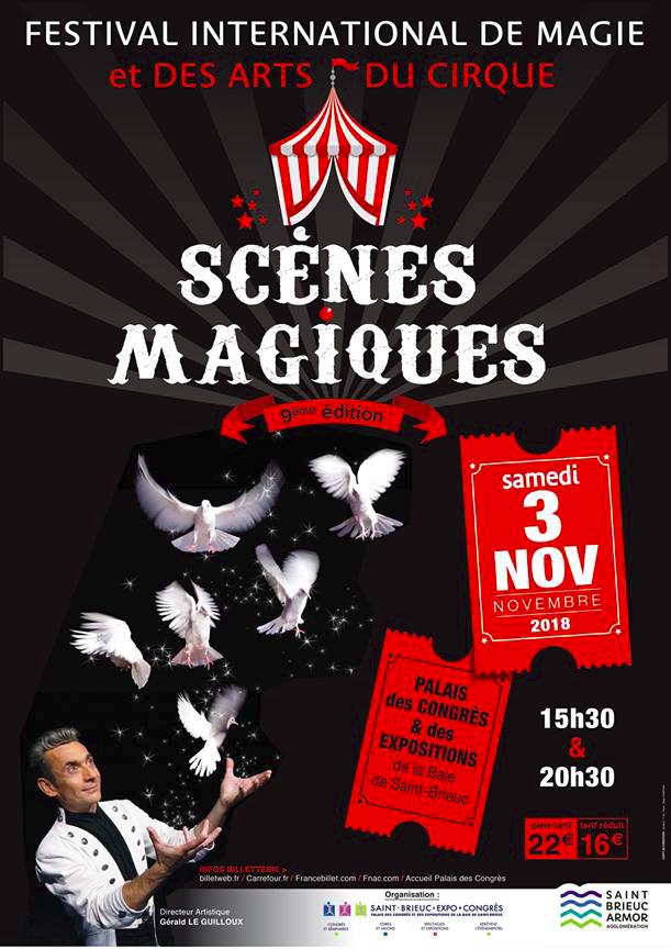 Scènes Magiques - Affiche 2018